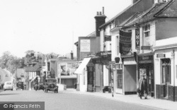 High Street c.1960, Sittingbourne