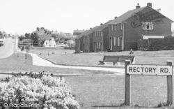 Sittingbourne, Houses In Canterbury Road c.1960