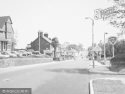 Sittingbourne, London Road c.1955