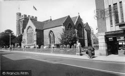 Sittingbourne, St Michael's Church c.1955