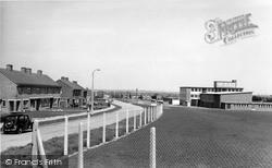 Sittingbourne, Swantree Avenue And East Secondary School c.1960