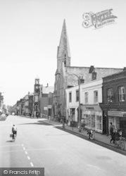 Sittingbourne, United Reform Church, High Street c.1965