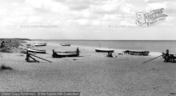 Sizewell, Beach c1965