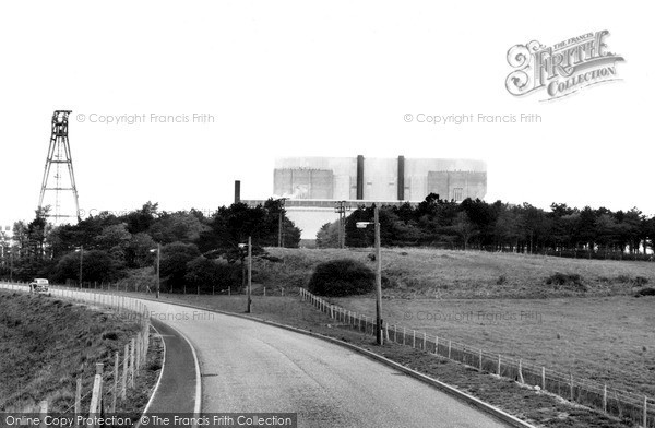 Sizewell, Nuclear Power Station c1965