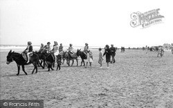 Donkey Rides On The Beach c.1955, Skegness