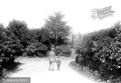 Entrance To The Pleasure Gardens 1896, Skegness