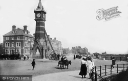 Grand Parade And Clock Tower 1910, Skegness