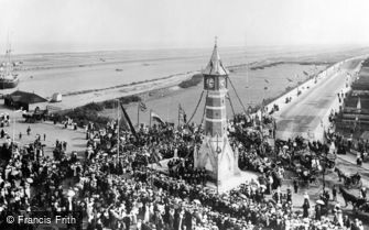 Skegness, Official Opening of the Clock Tower 1899