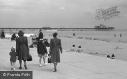 Promenade And Pier c.1955, Skegness
