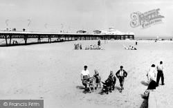 Sands And Pier c.1955, Skegness