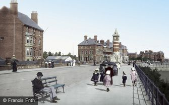 Skegness, South Parade 1899