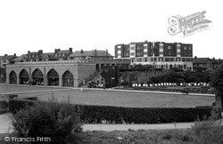 Sun Castle And Bowling Green c.1955, Skegness