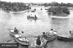 The Boating Lake c.1955, Skegness
