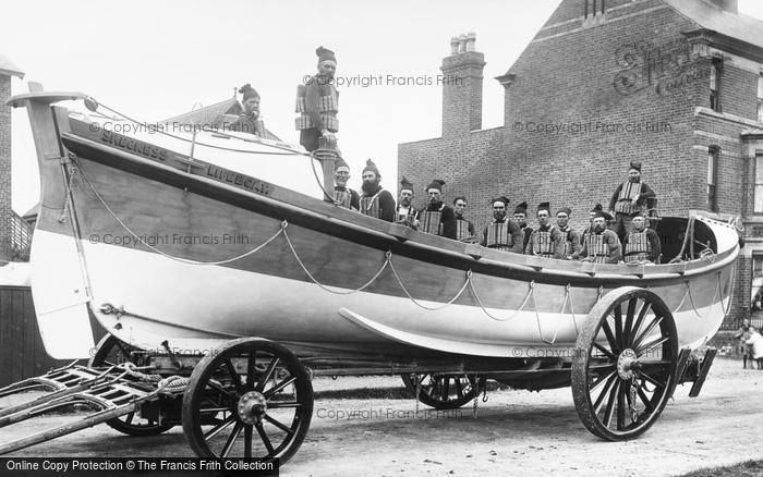 Photo of Skegness, The Lifeboat 1896