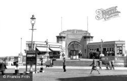 The Pier Entrance c.1955, Skegness