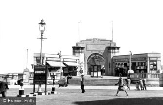 Skegness, the Pier Entrance c1955