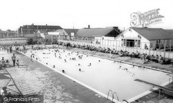 The Pool, Derbyshire Miners Welfare Centre c.1965, Skegness