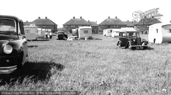 Skegness, Walsh's Holiday Camp c.1955