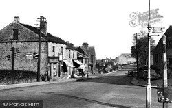 Commercial Road From Triangle c.1955, Skelmanthorpe
