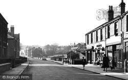 Commercial Road, Towards Huddersfield c.1955, Skelmanthorpe