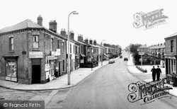 Sandy Lane c.1960, Skelmersdale
