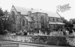 St Paul's Parish Church c.1960, Skelmersdale