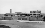 Skelmersdale, the County Secondary School c1960