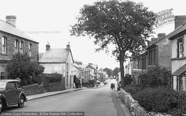 Photo of Sketty, Gower Road 1939