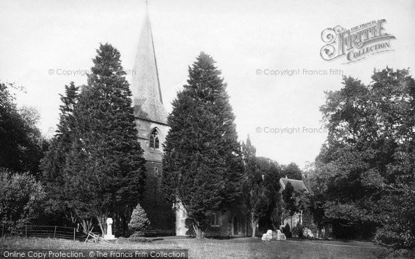 Photo of Sketty, St Paul's Church 1896