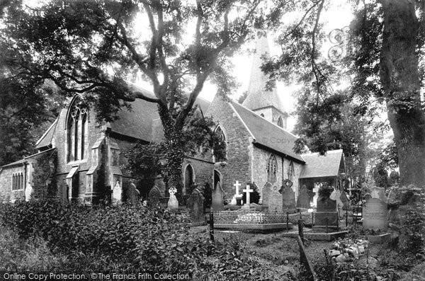 Photo of Sketty, St Paul's Church 1910