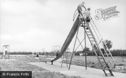Skewen, The Park, Children's Playground c.1955