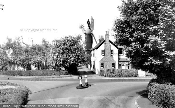 Skidby,Mill c1965,Humberside