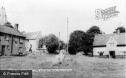 Old Cross And Village Green c.1965, Skillington