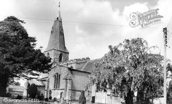 St James' Church c.1965, Skillington