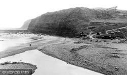Skinningrove, The Cliffs c.1955