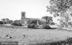 Skipsea, All Saints' Church c.1960