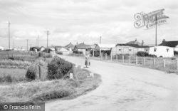 Skipsea, Caravan Site c.1960