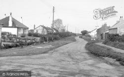 Skipsea, Cleaton Lane c.1955