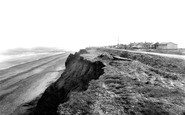 Skipsea, Cliff Road c1955