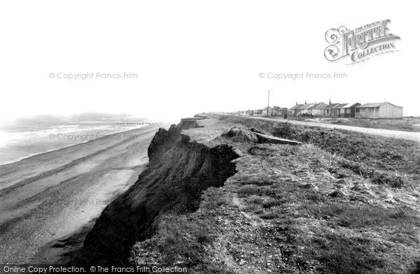 Photo of Skipsea, Cliff Road c1955