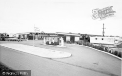 Skipsea, The Camp Entrance, United British Caravan Co Ltd c.1965