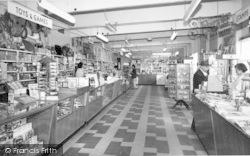 Skipsea, The Shop, United British Caravan Co Ltd c.1965