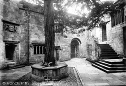 Skipton, Castle Courtyard 1893