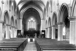 Skipton, Christ Church Interior 1900