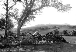 Skipton, Grassington Road And Sharphaw 1923