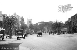 Skipton, High Street And War Memorial c.1922