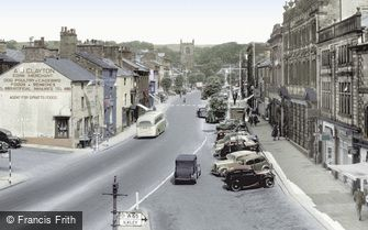 Skipton, High Street c1955