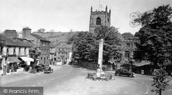 Skipton, Holy Trinity Church And Cenotaph 1940