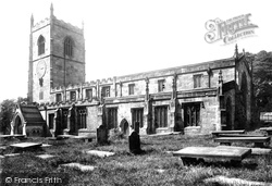 Skipton, Holy Trinity Church From The South East 1893