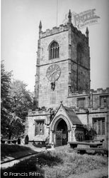 Skipton, Holy Trinity Church Tower c.1940